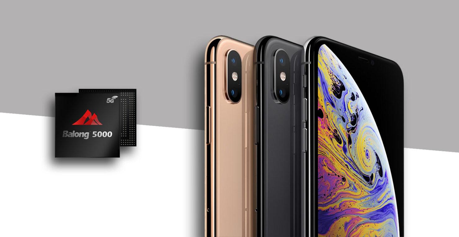 Huawei no communication Apple 5G modems