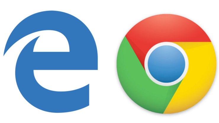 microsoft edge google chrome browser wars
