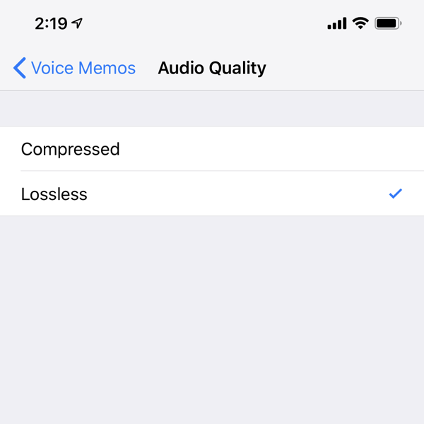 How to Record Voice Memos in Lossless Audio Quality on iPhone and iPad
