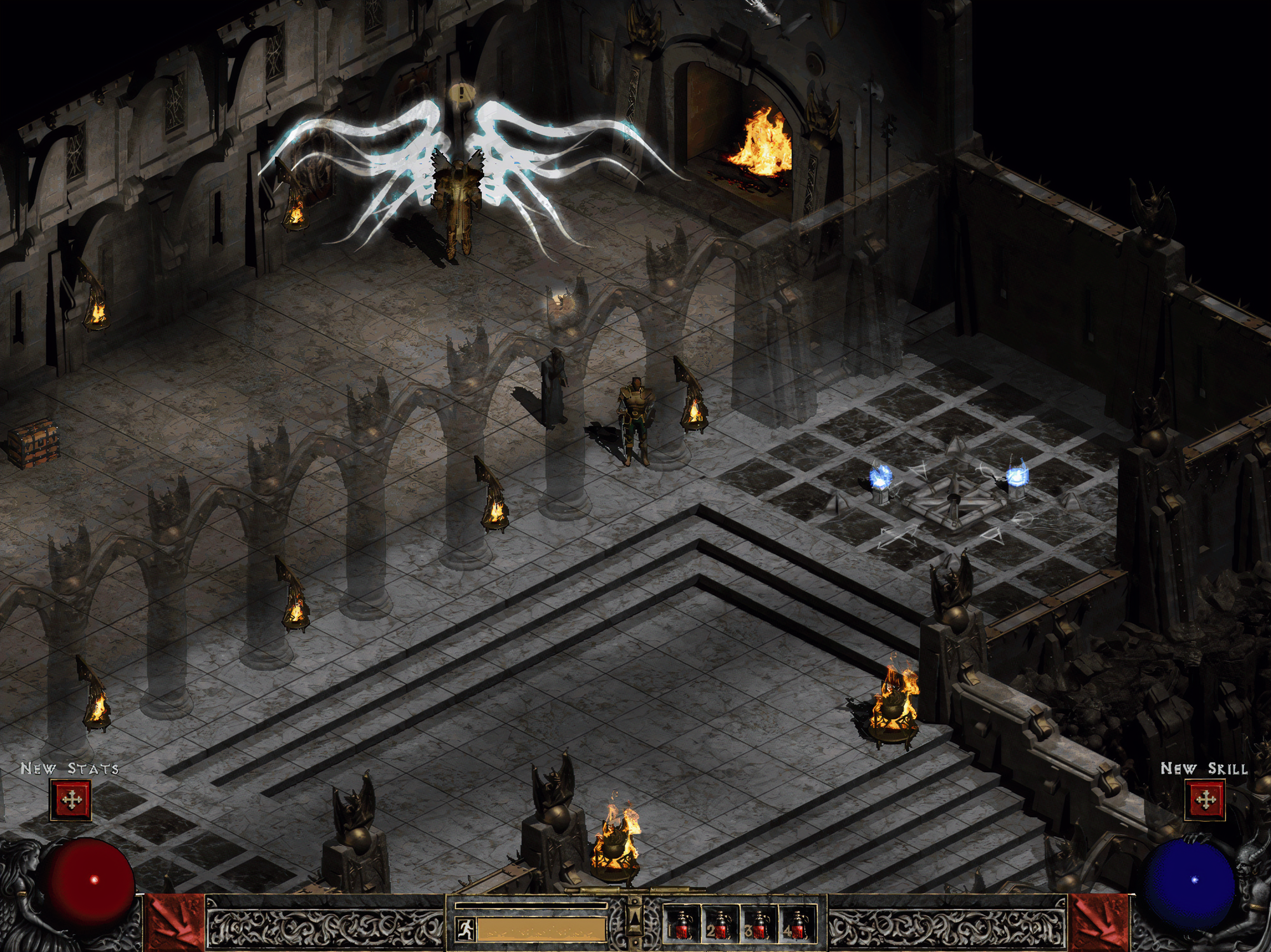 Diablo 2 Remaster Using ESRGAN AI Upscaling Could Look Like This