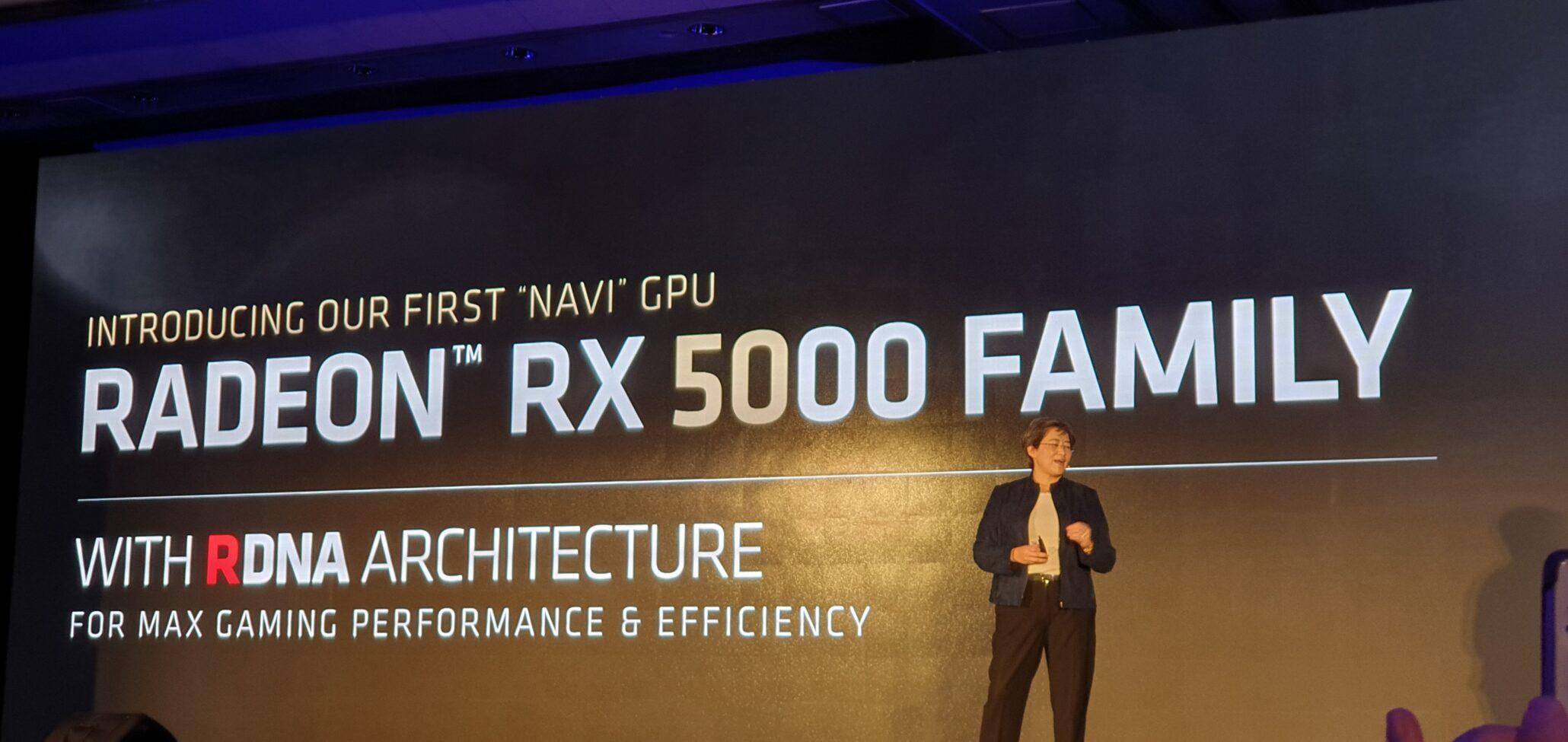 AMD Previews First 7nm Gaming Navi GPU: Radeon RX 5700 GPU