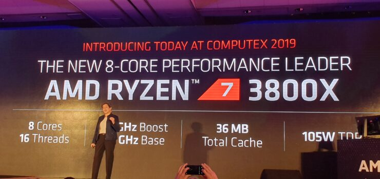 Amd Ryzen 3000 Announced 7nm Cpus 12 Cores 4 6 Ghz 499 Us