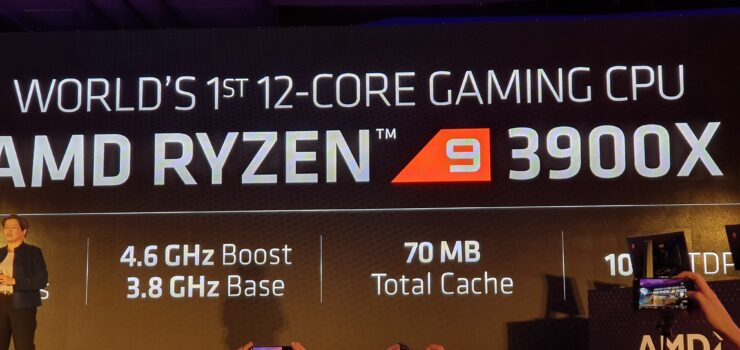 AMD Ryzen 3000 Announced - 7nm CPUs, 12 Cores, 4 6 Ghz, $499 US