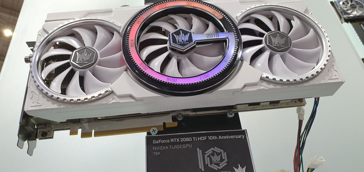 GALAX GeForce RTX 2080 Ti HOF Graphics Card