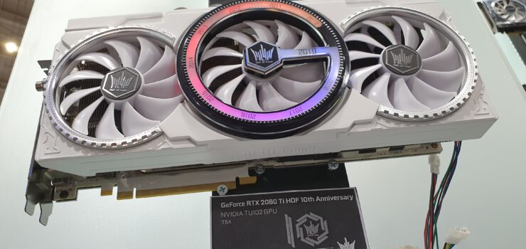 GALAX GeForce RTX 2080 Ti HOF Graphics Card