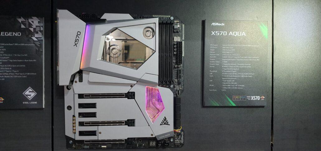 ASRock X570 Aqua Motherboard For AMD Ryzen 3000 CPUs