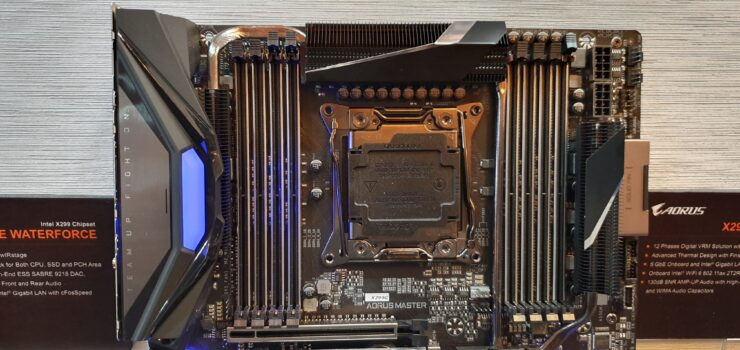 AORUS Unveils X299 Motherboards For Next-Gen Intel Core X CPUs
