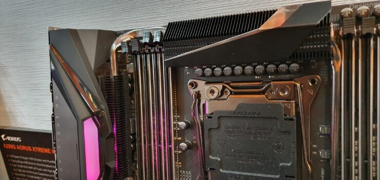 AORUS Unveils X299 Motherboards For Next-Gen Intel Core X CPUs