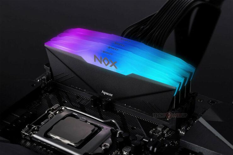 APACER DDR4 RGB Memory Kits