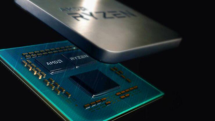 AMD Ryzen 5 3600 6-ядерный 7-нм процессор Zen 2 CPU Leak
