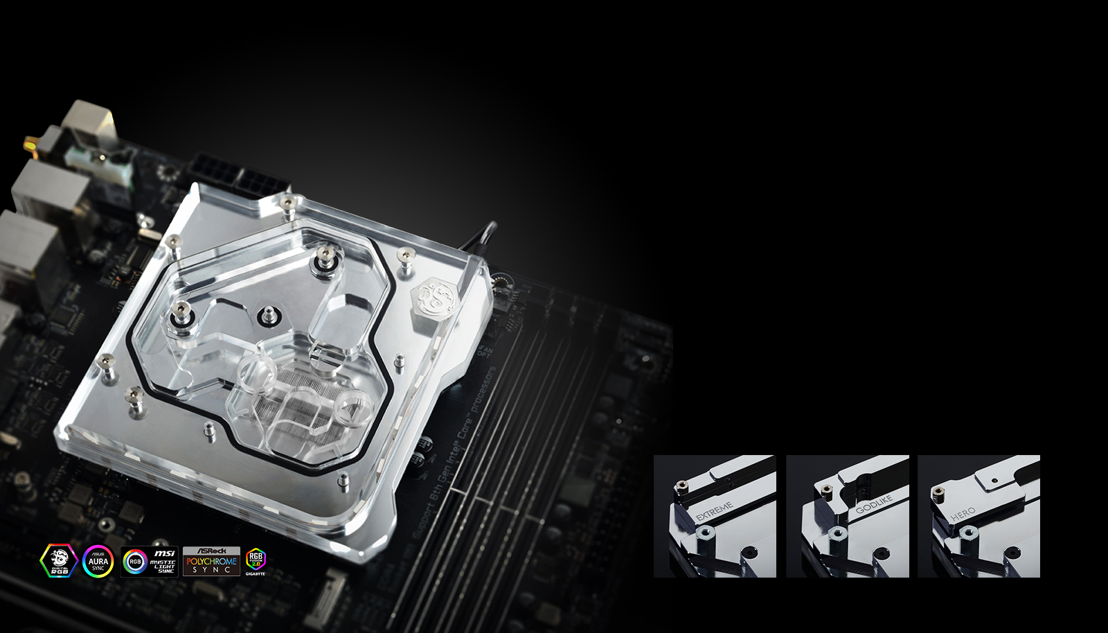 Bitspower Releases Monoblock For ROG Maximus XI Apex