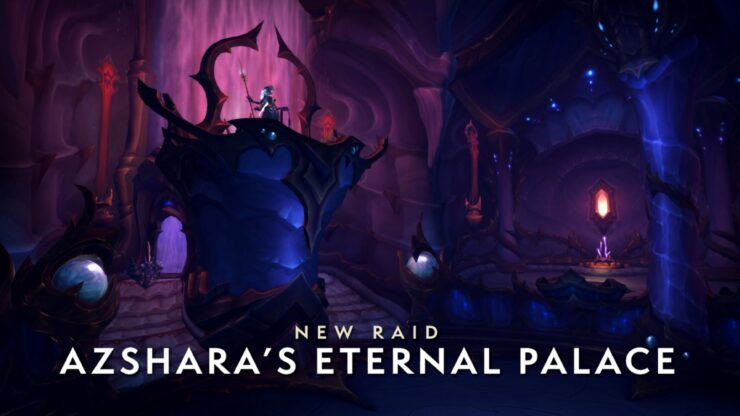 Battle for Azeroth Patch 8.2 Rise of Azshara The Eternal Palace Raid