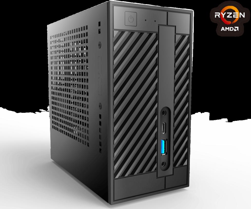 华擎DeskMini A300高调亮相,小巧玲珑却极具出色的3D性能