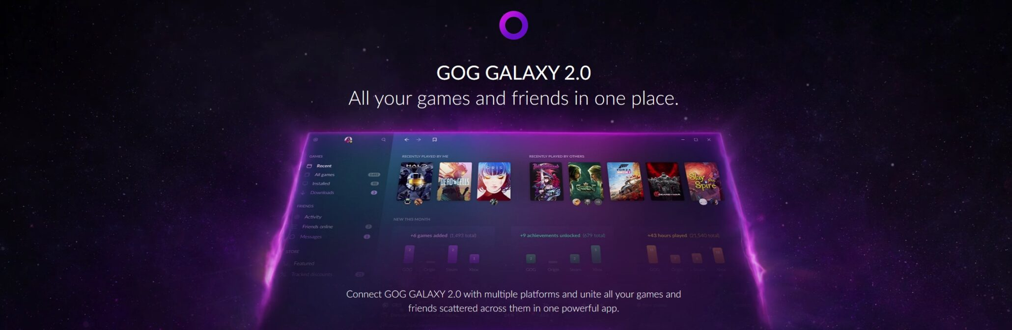 GOG Galaxy 2 0 Wants to Bring Everybody Together (Steam, Epic
