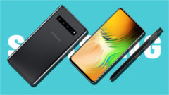 Samsung Galaxy Note 10 five colors