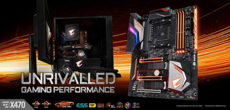 Gigabyte X470 PCIe 4.0 Support AMD Ryzen 3000 AM4