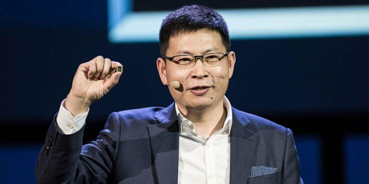 Huawei Richard Yu talks custom OS