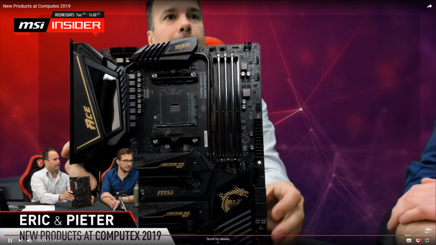MSI MEG X570 ACE For AMD Ryzen 3000 CPUs