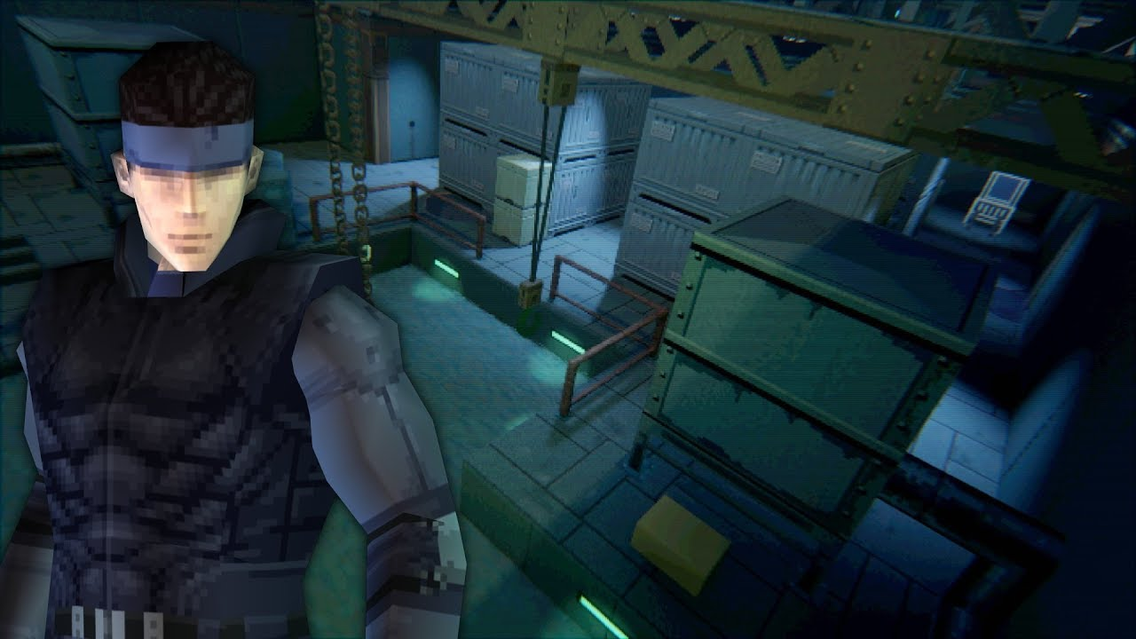 Metal Gear Solid HD Remake in Media Molecule's Upcoming PS4