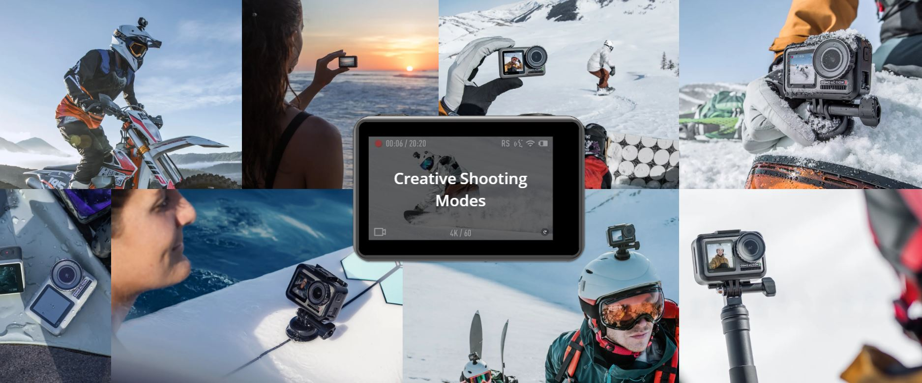 DJI Takes a Hit at GoPro with its New Osmo Action Camera