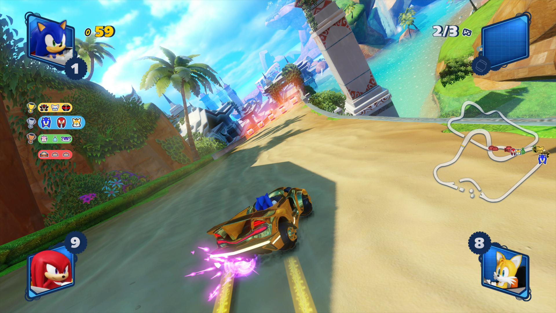 Team Sonic Racing - 100% Reviews