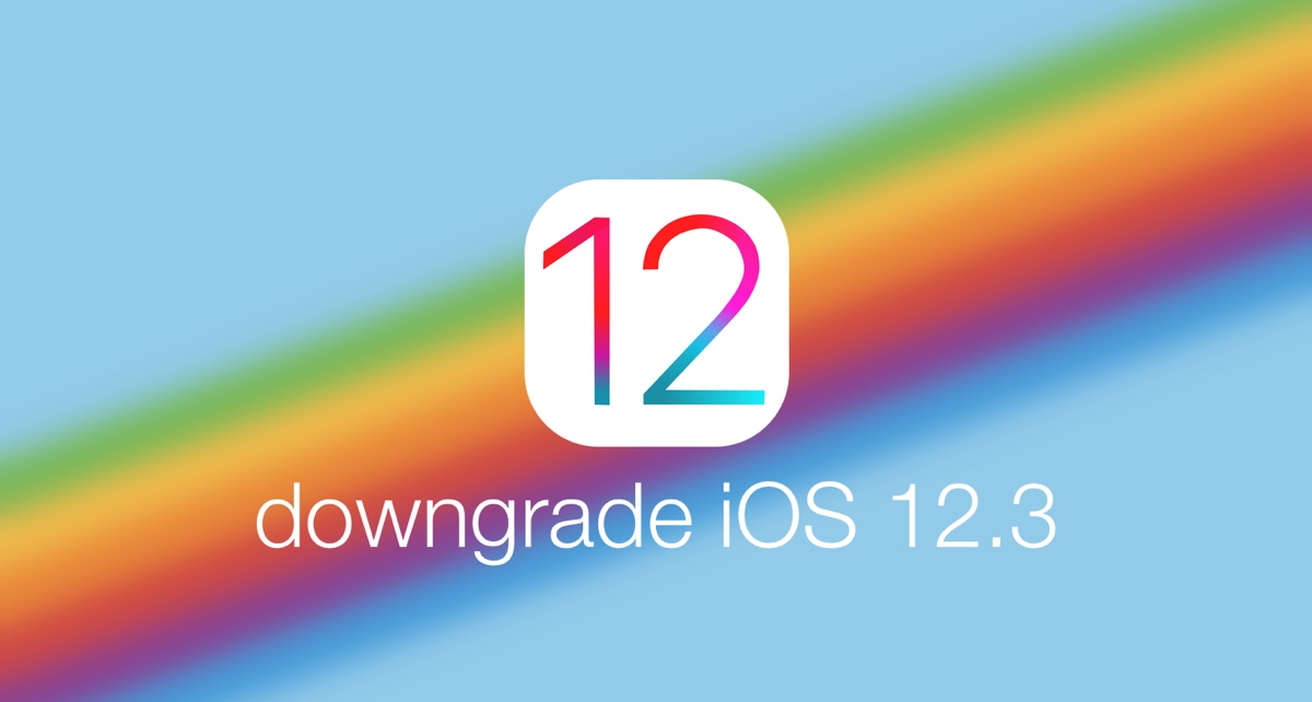 How to Downgrade iOS 12 3 to iOS 12 2 on iPhone, iPad or