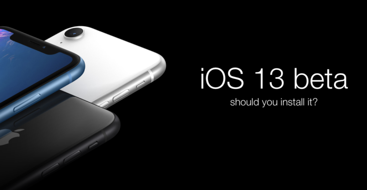 install iOS 13 beta
