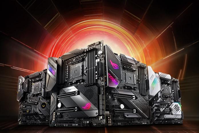 AMD X570 Motherboard Round Ft  ASUS, ASRock, AORUS, MSI