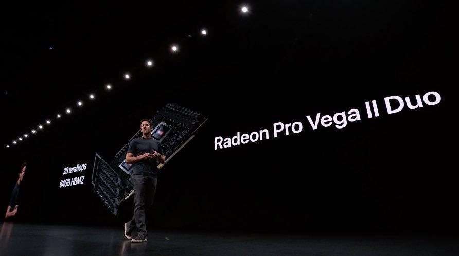 AMD Announces 7nm Radeon Pro Vega II GPUs For Apple Mac Pro