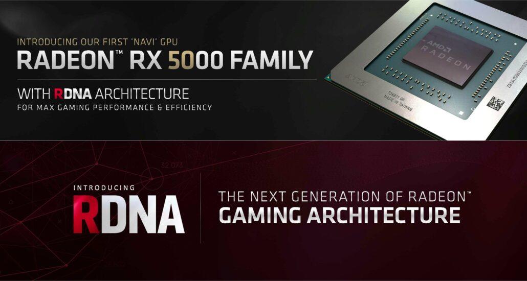 AMD Radeon RX 5000 With Navi GPU, RDNA & GCN Architecture