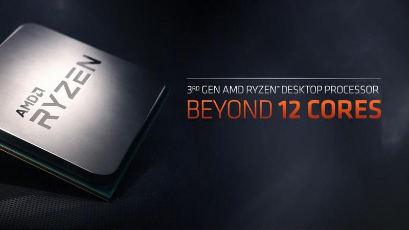 AMD Launches 7nm Ryzen 3000 CPUs & Radeon RX 5700 GPUs