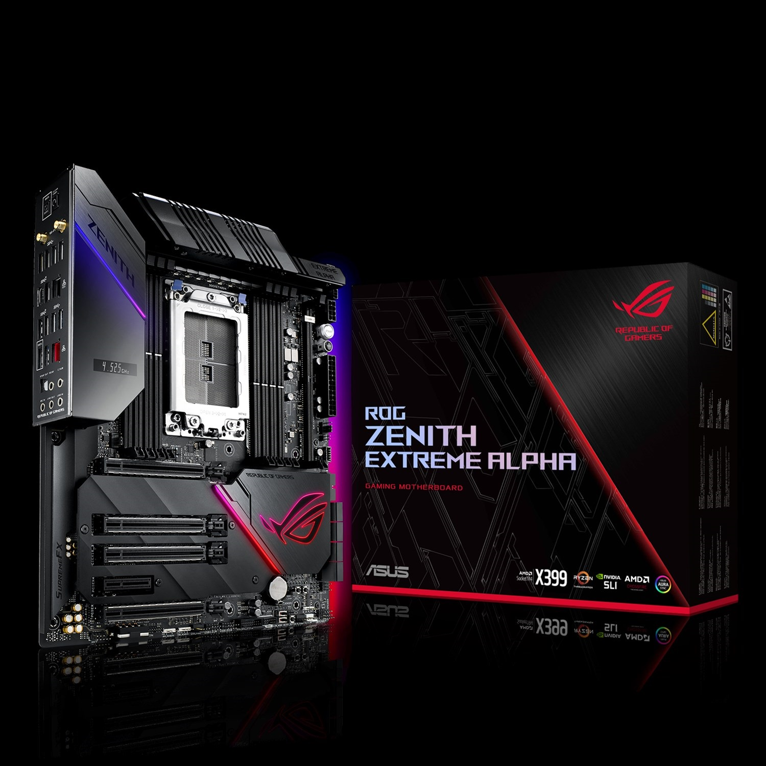 ASUS ROG Zenith Extreme Alpha Motherboard Review With AMD Ryzen