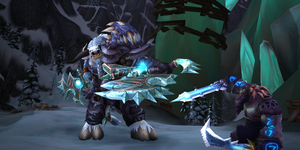 Blizzard Rolls Out Frost Death Knights and Arms Warrior