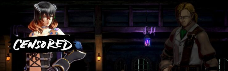 Bloodstained: Ritual Of The Night Nude Mod Strips Down