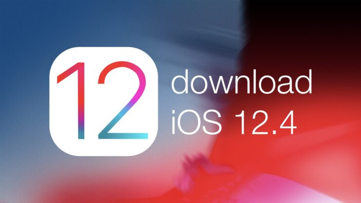 download iOS 12.4
