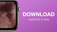 download watchOS 6 beta