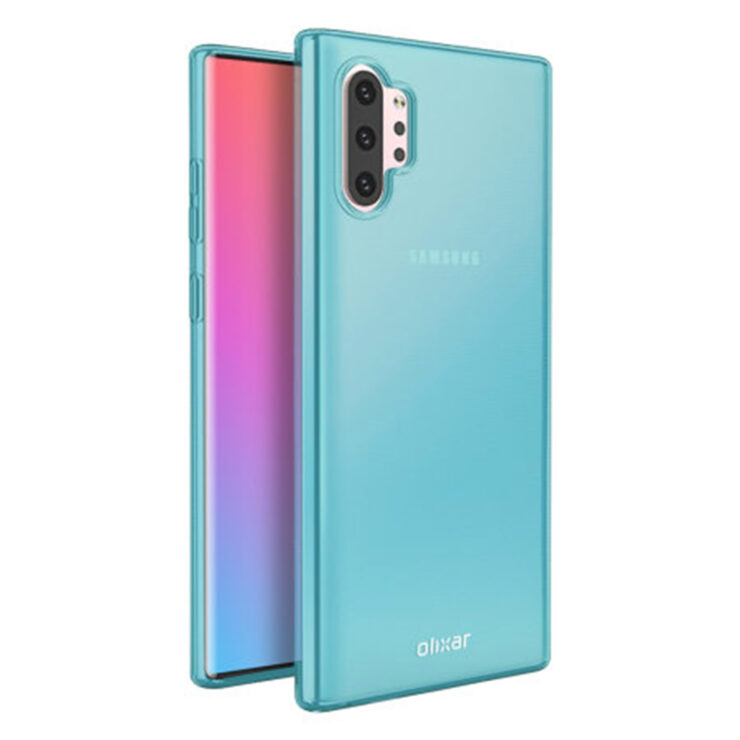 Galaxy Note 10 case accessories leak