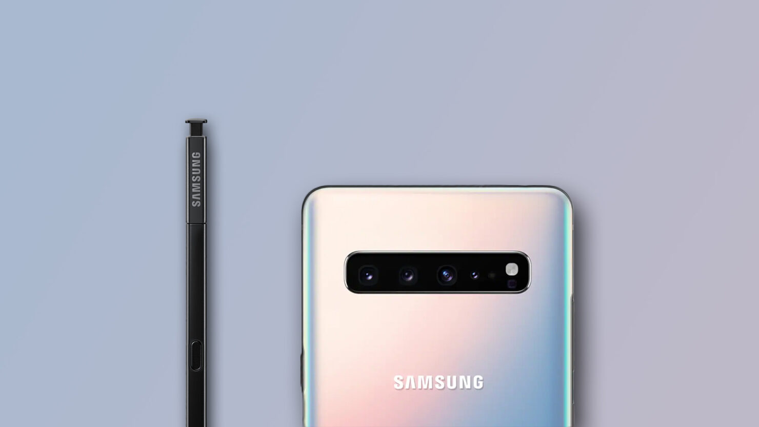 Galaxy Note 10 camera with variable aperture feature