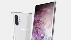 Galaxy Note 10 front camera to improve selfie portraits