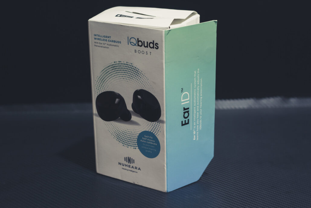 IQ Buds BOOST Retail Box