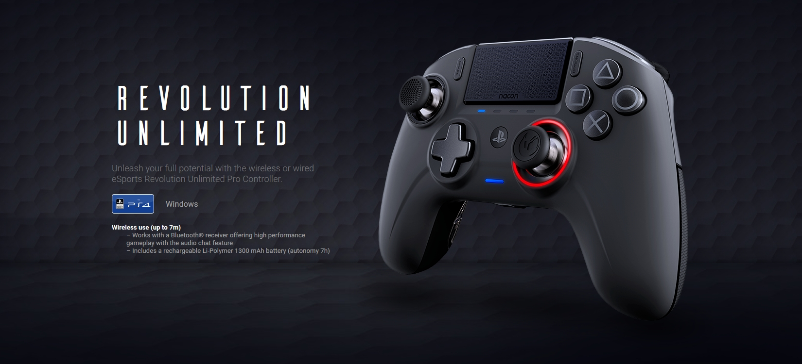 Nacon Revolution Unlimited Pro Review The Almost Perfect Ps4