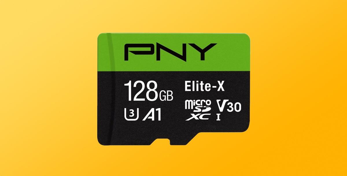 Crazy Deal: PNY's 128GB microSD Capable of Recording 4K