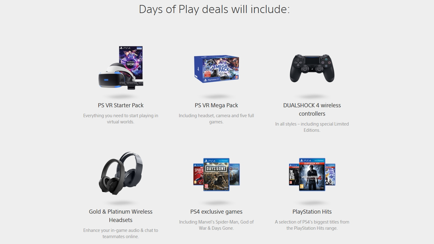 Playstation Days of Play is Coming, Deals on VR, Exclusives