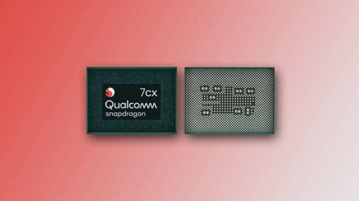 Qualcomm Snapdragon 7cx cheaper Windows 10 notebooks