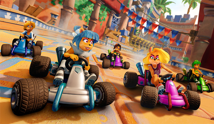 Crash Team Racing Nitro-Fueled Hands-On Impressions