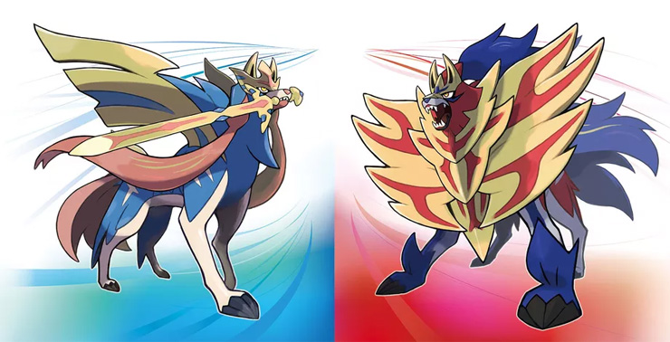 New phantom pokemon sword and shield