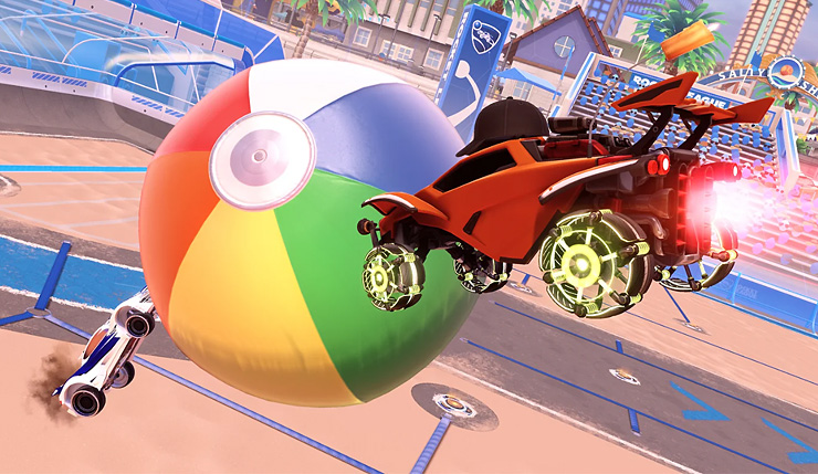 Rocket League Radical Summer Hands-On Impressions: Gnarly