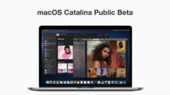 macOS Catalina public beta