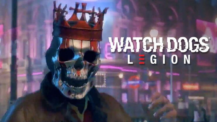 Watch Dogs Legion Gamescom 2019 trailer