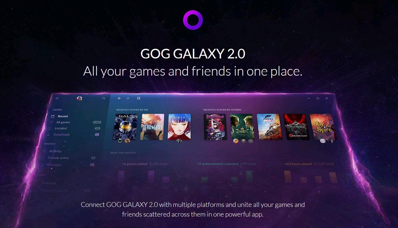 GOG Launches GOG GALAXY 2 Closed Beta